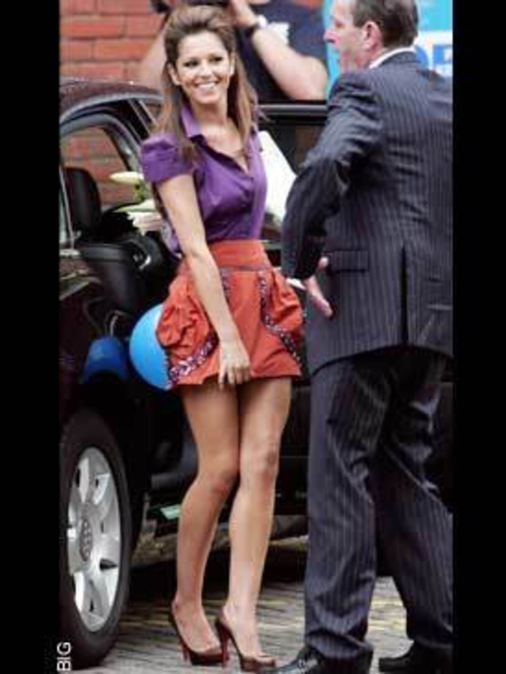 <p>Cheryl Cole in Louis Vuitton</p>