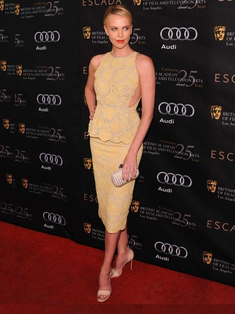 <p>Charlize Theron in Stella McCartney</p>