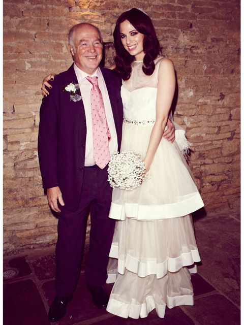 <p>My dear dad, the absolute best man I know by miles, and benchmark for all who followed him. Sorry husband - Sophie Beresiner, Beauty Director.</p>