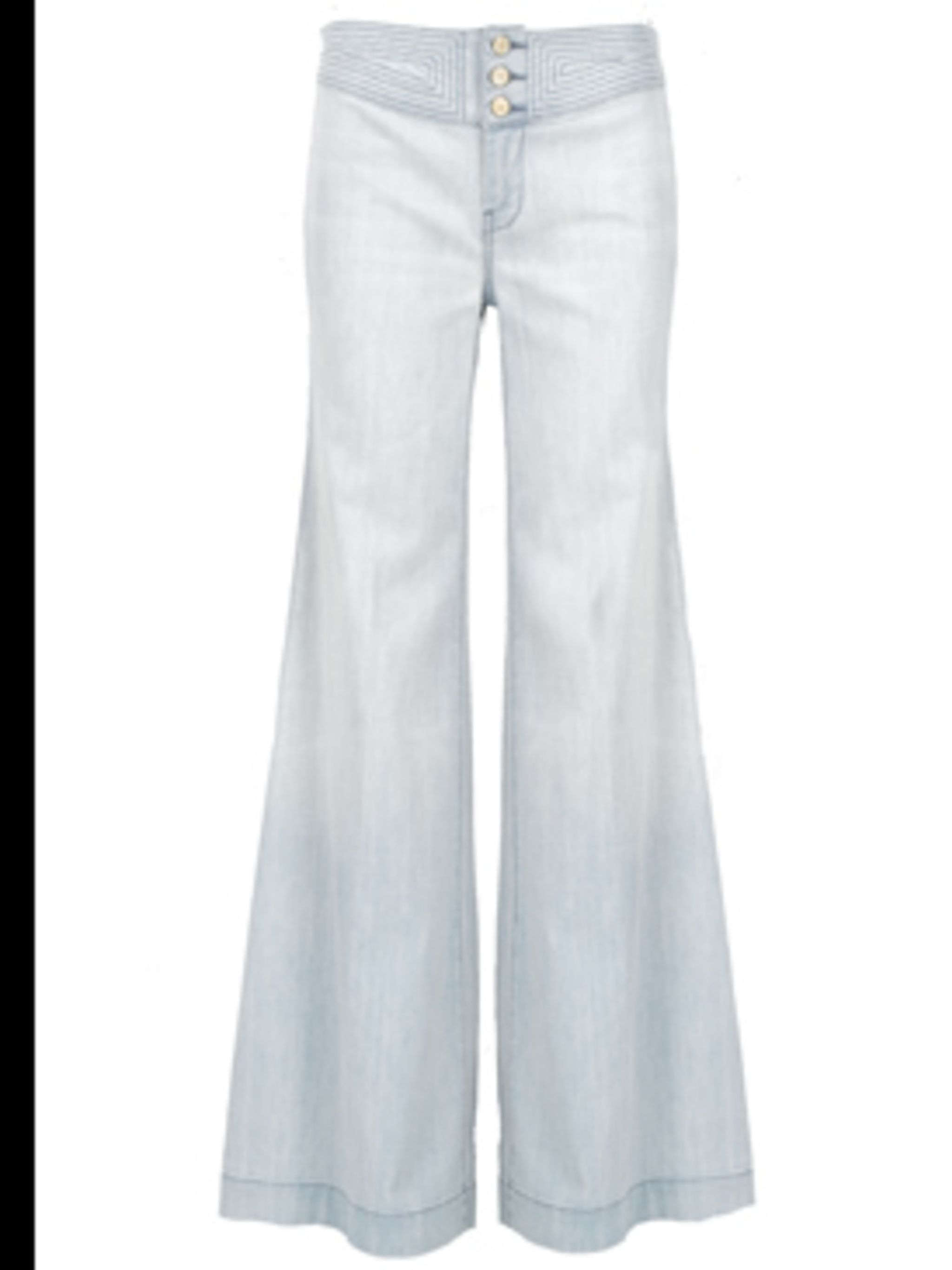 <p>Flared jeans £199 by Seven For All Mankind, for stockists call 0207 823 9500</p>