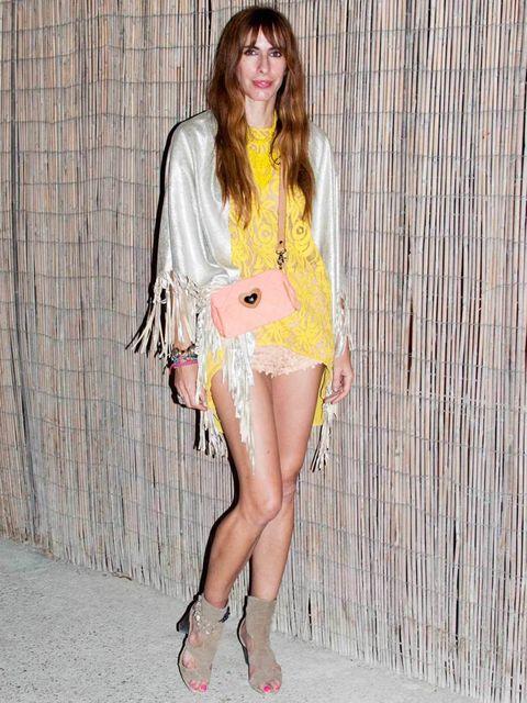 <p>Macareua, 32, Madrid, Fashion Stylist. Outfit all vintage, Zara necklace, Salinas bracelet.</p>
