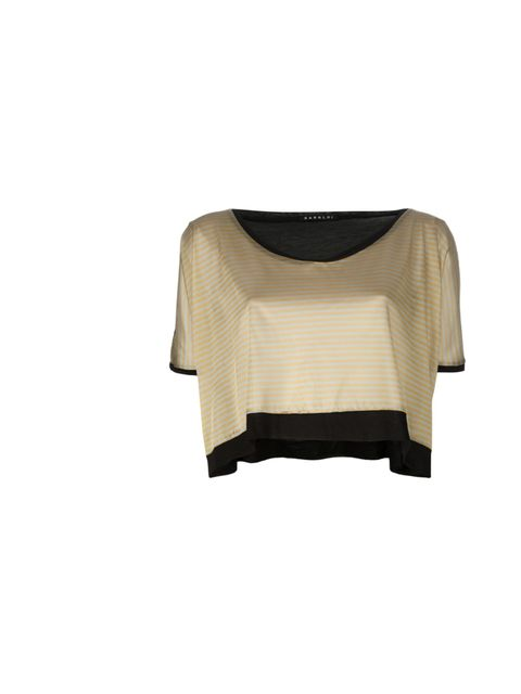 "<p>Sara Loi crop top, £76, at <a href=""http://www.no-one.co.uk/shopping/women/sara-loi-crop-top-item-10197643.aspx"">No-One</a></p>"