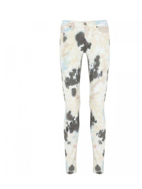"<p>Paige tie dye skinny jeans, £215, at <a href=""http://www.harveynichols.com/womens/categories-1/jeans/skinny/s409130-verdugo-mid-rise-tie-dye-skinny-jeans.html?colour=MULTICOLOURED"">Harvey Nichols </a></p>"