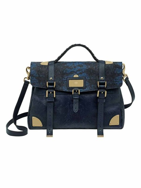 <p>Mulberry Travel bag in nightshade blue.</p>