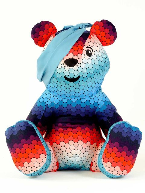 <p>Pudsey Bear by Jonathan Saunders for Children in Need</p>