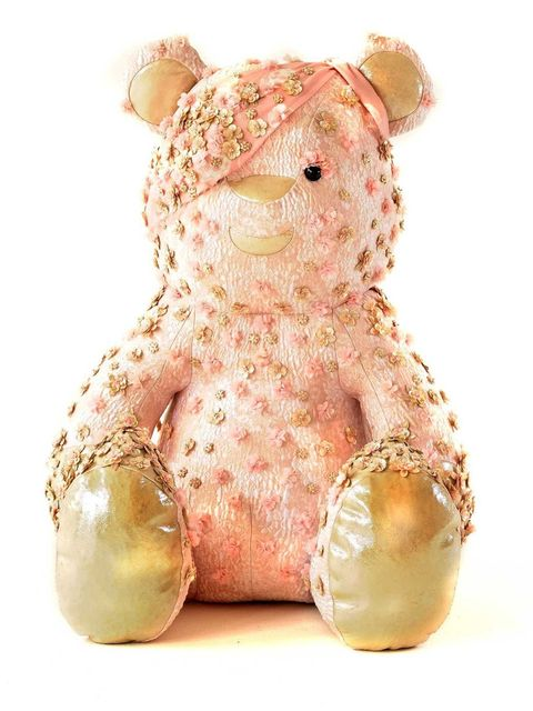 <p>Pudsey Bear by Alexander McQueen for Children in Need</p>