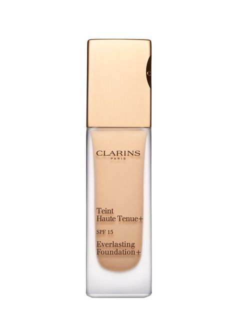 """<p>Clarins have reintroduced their bestselling foundation but this time with up to 18 hours of wear thanks to matifying bamboo powder and High Fidelity System + technology.</p>  <p><a href=""""http://www.clarins.co.uk/everlasting-foundation-/C050101014.html?"""