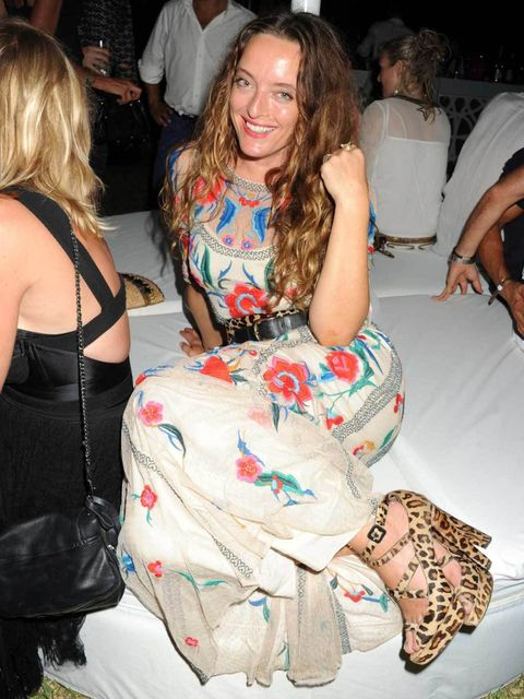 """<p><a href=""""http://www.elleuk.com/catwalk/designer-a-z/temperley-london/autumn-winter-2012"""">Alice Temperley</a> attends the Ibiza Summer Party in aid of Teenage Cancer Trust and Asociación Española Contra el Cáncer, at Groucho Ibiza, August 2012.</p>"""