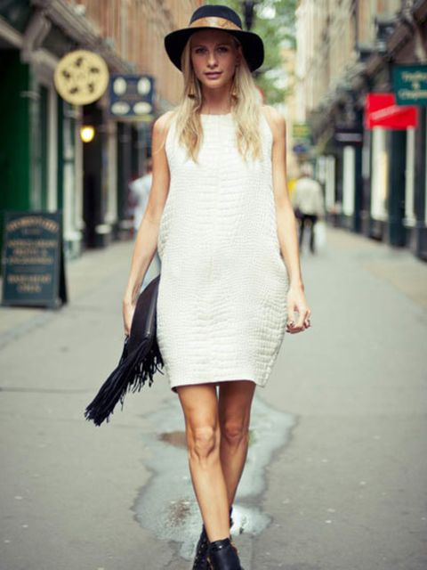 <p>Poppy Delevingne for ELLE at London Fashion Week</p>