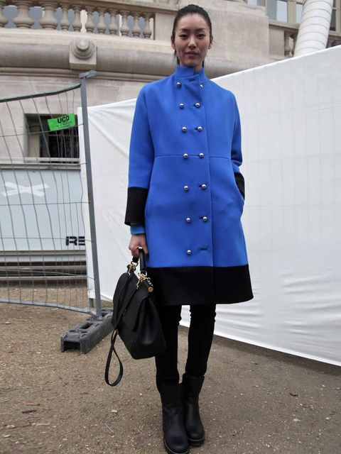 <p>Liu Wen, Model.</p>