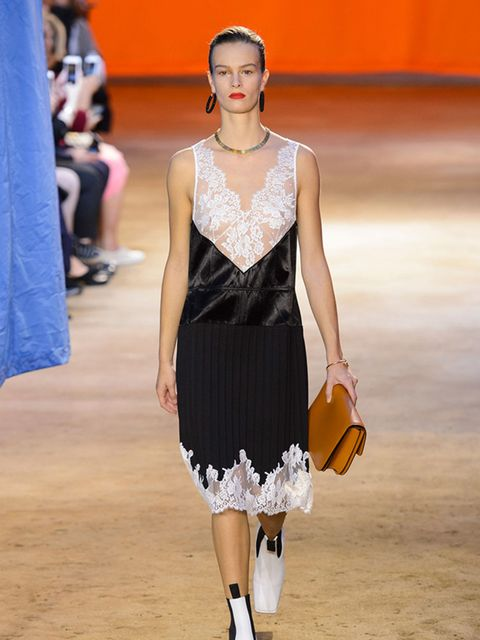 <p><strong>The Slip Dress</strong></p>  <p>As seen at Celine</p>