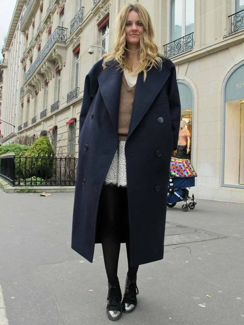 <p>Stella McCartney coat.</p>