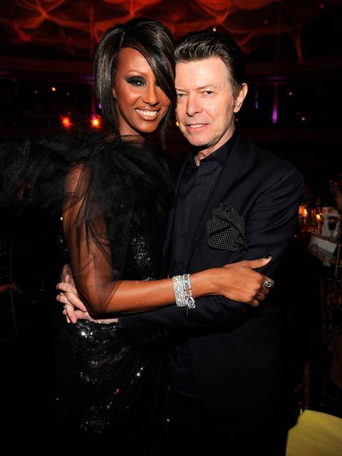 "<p>Iman and David Bowie</p>  <p>He's previously been quoted as saying, ""I was naming the children the first night we met"", so if that's not love at first sight, what is? The couple have been married for 22 years and have a daughter together, 13-year-old A"