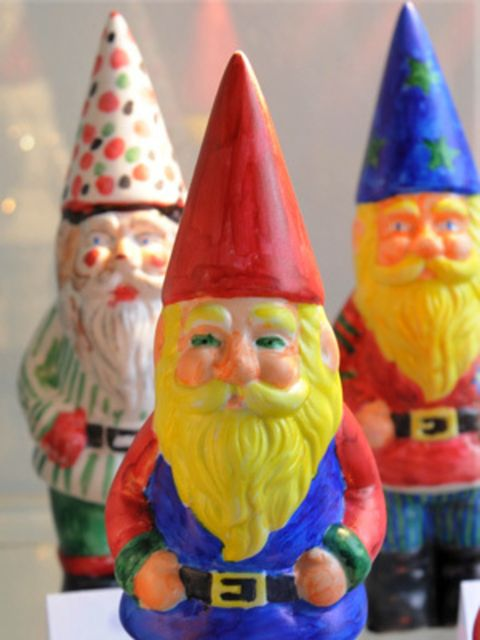 <p>Gnomes at the Chelsea Flower Show</p>