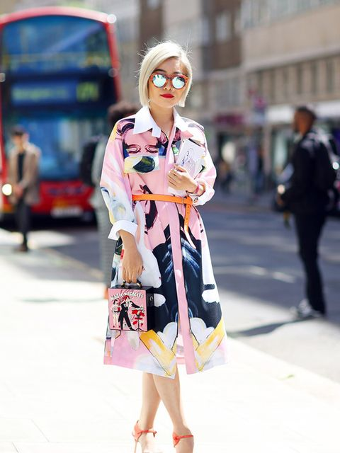 <p>Candi Li wears a dress from a boutique in China, Olympia Le tan bag.</p>