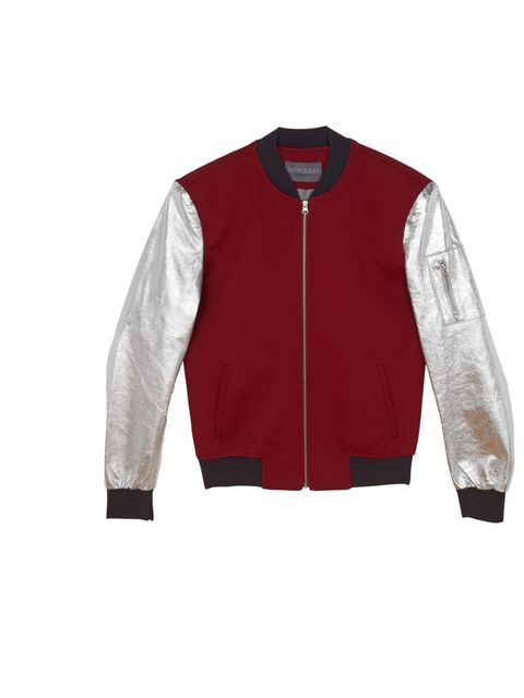 "<p>Antipodium Jacket, £299 at <a href=""http://www.antipodium.com/coats-and-jackets/clandestiny-jacket-in-wine"">www.antipodium.com</a></p>"