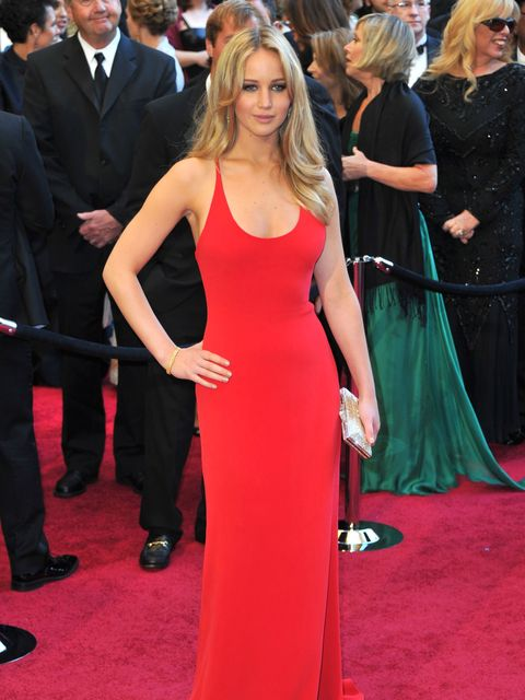 <p>Jennifer Lawrence at 2011 Oscars</p>