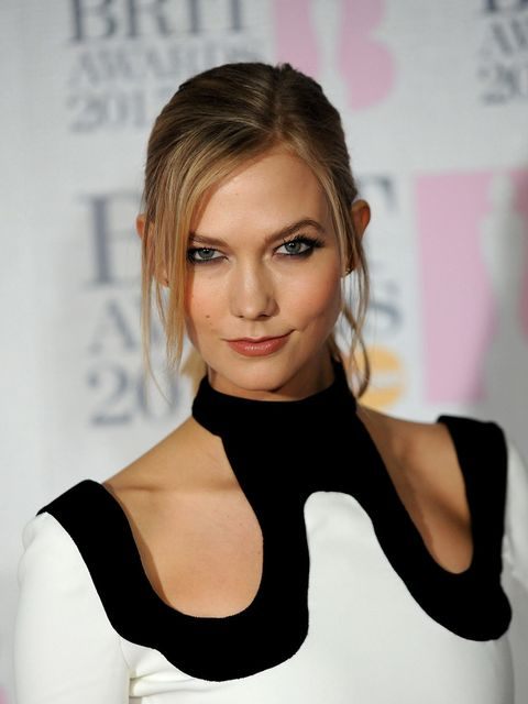 <p>Karlie Kloss wears Tom Ford at the BRIT Awards 2015 in London</p>