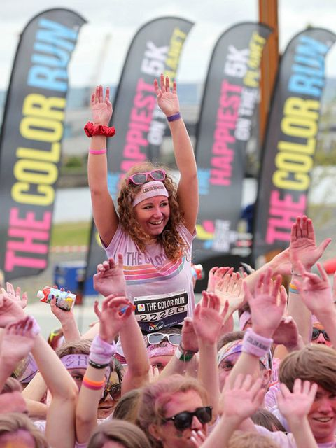 <p><strong>RUNNING – Save The Children Colour Run </strong></p>