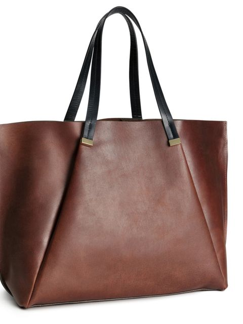 """<p>Large tote, £69.99 by <a href=""""http://www.hm.com/gb/product/32172?article=32172-A"""">H&M</a>.</p>"""