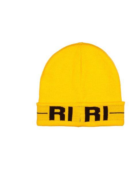"<p><a href=""http://www.elleuk.com/fashion/news/rihanna-river-island-aw13-campaign-behind-the-scenes-video"">Rihanna for River Island</a> yellow Ri Ri beanie, £15</p><p><em><a href=""http://www.elleuk.com/elle-tv/cover-stars/elle-magazine/rihanna-elle-behind"