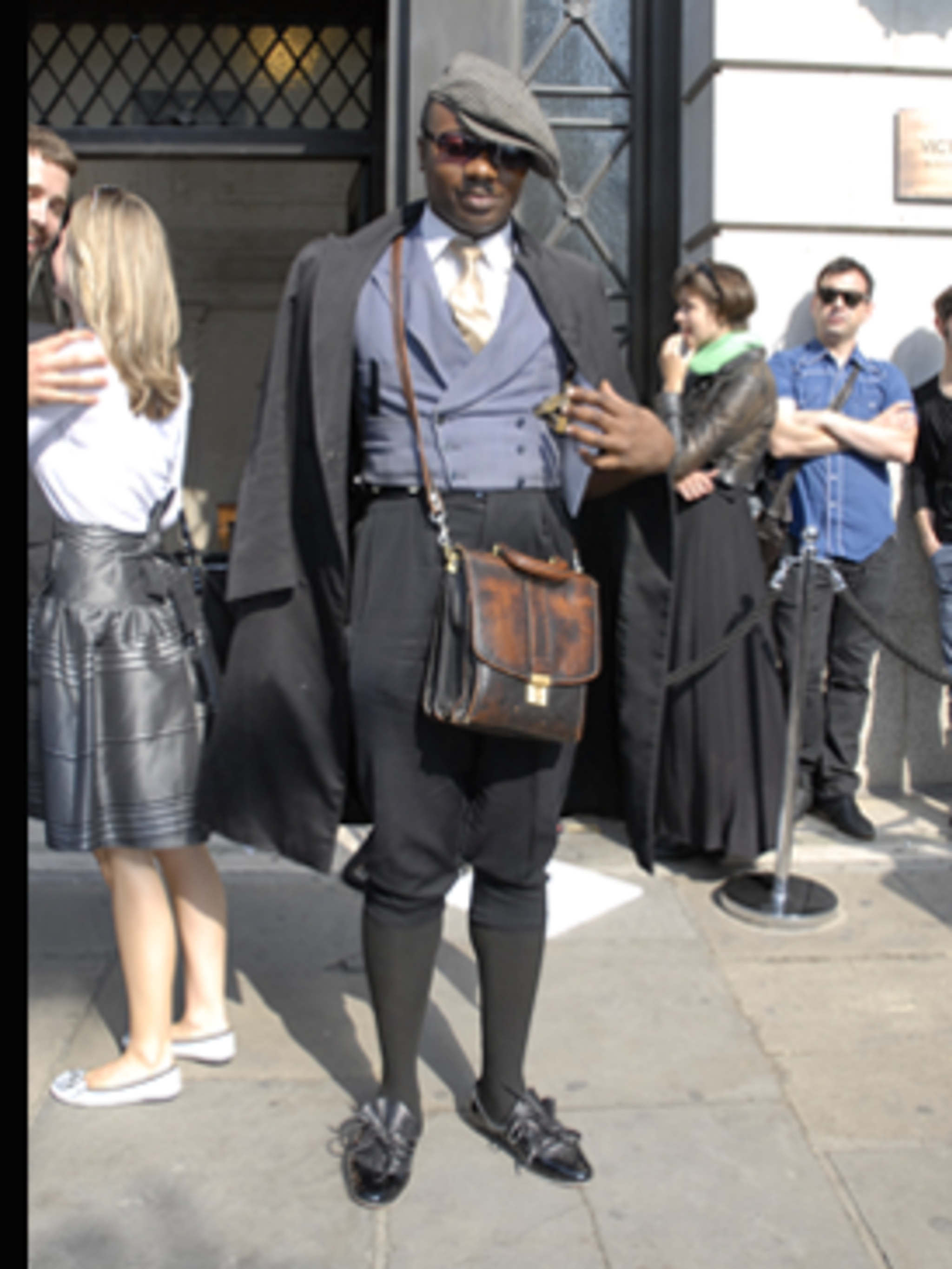 <p>This fashion week we've noticed the boys seem to be making so much more effort than the girls. Click here to find out what London's most outrageously dressed boys are wearing.</p>
