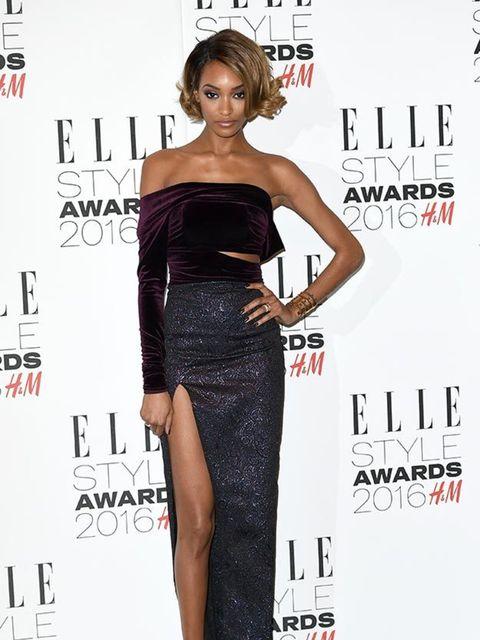 Jourdan Dunn at the ELLE Style Awards in London, February 2016.