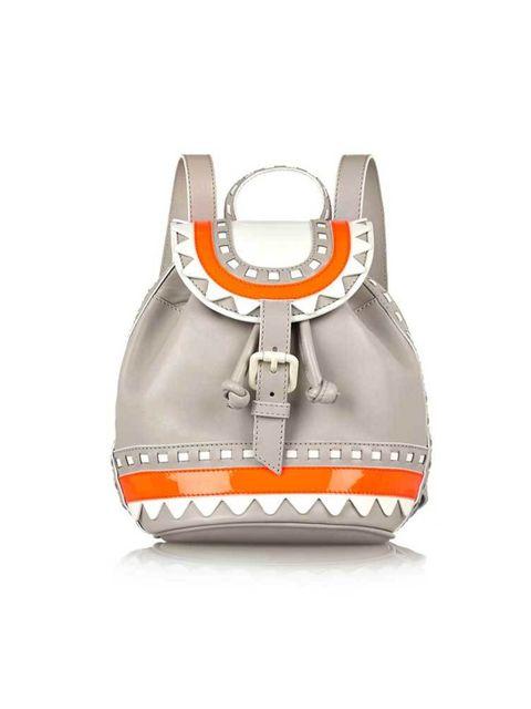"<p><a href=""http://www.net-a-porter.com/product/504160/Sophia_Webster/ziggy-leather-backpack"" target=""_blank"">Sophia Webster</a> bag, £395</p>"
