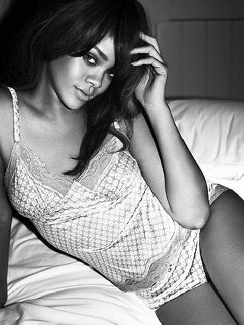 <p>Rihanna in the Emporio Armani advert</p>