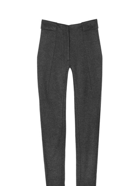 <p>Cos grey wool trousers, £65, for stockists call 020 7478 0400</p>