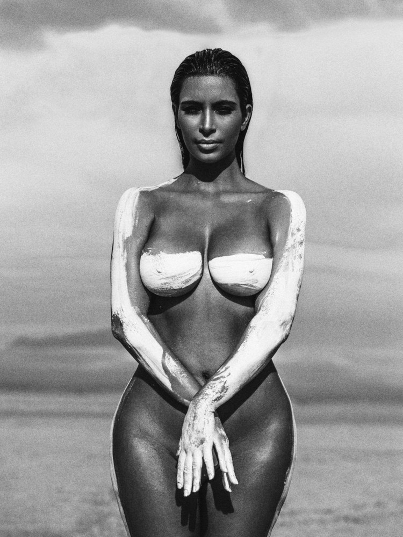 Kim kardashian unseen photoshoot