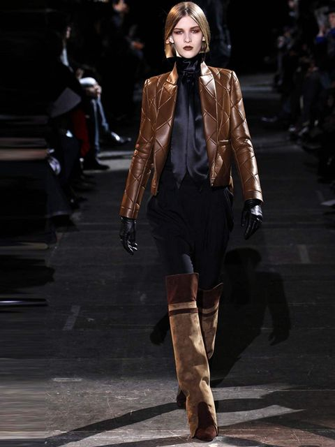 <p>Givenchy by Ricardo Tisci Autumn Winter 12 Look 31</p>