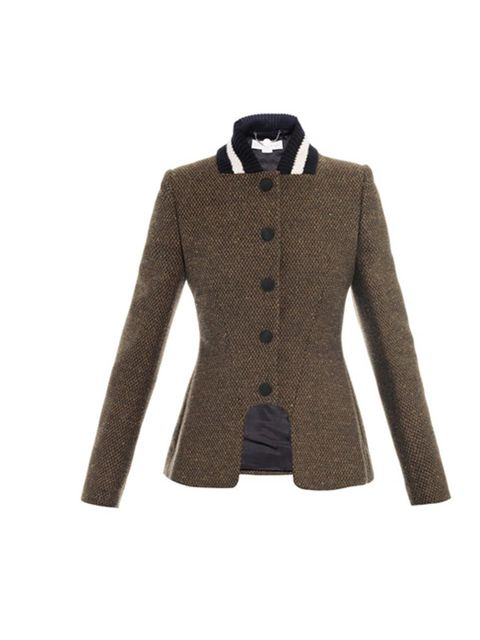 "<p>Stella McCartney Natalie tweet equestrian jacket, £1195 at www.matchesfashion.com</p><p><a href=""http://www.matchesfashion.com/product/129310"">BUY NOW</a> </p>"