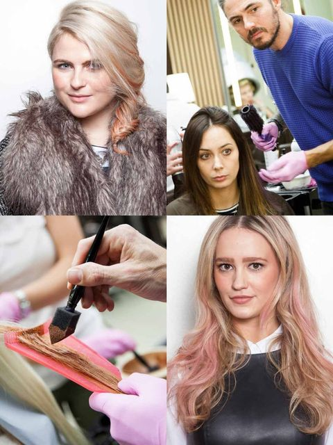 """<p>Gone are the days when dying your hair candyfloss pink was deemed too young; over the past year bright, bold and unashamedly rainbow coloured hair has become the norm.</p><p>With poster girls like <a href=""""http://www.elleuk.co"""
