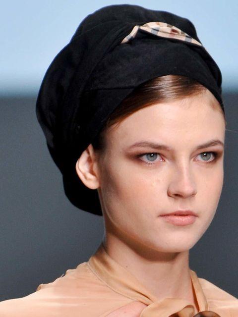 "<p><a href=""http://www.elleuk.com/catwalk""></a></p><p><em>Hair Stylist: </em>Luke Hersheson for L'Oreal Professionnel</p><p><em>Look:</em> Headscarf Chic</p><p>&l"