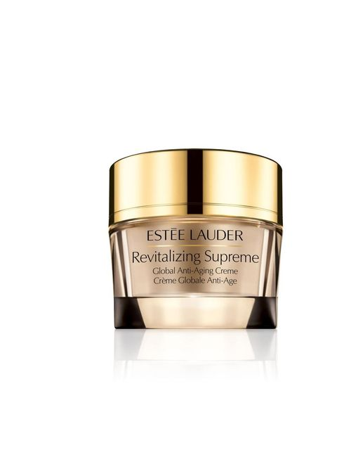 """<p><a href=""""http://www.esteelauder.co.uk/product/688/20707/Product-Catalog/Skincare/By-Category/Moisturisers/Revitalizing-Supreme/Global-Anti-Aging-Creme/index.tmpl"""">Estèe Lauder</a> Revitalizing Supreme Globale Anti-Ageing Crème £56</p>"""