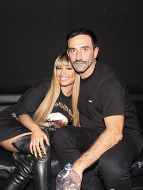 Nicki Minaj: Riccardo, I can't thank u enough for your hospitality. God bless Italy. #Givenchy #MFW