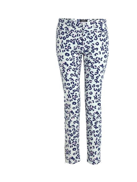 "<p>If you're covering up for the next few months you might as well have some fun. Enter the leopard print jean... A.P.C. leopard print jeans, £155,. at My-Wardrobe</p><p><a href=""http://shopping.elleuk.com/browse?fts=apc+leopard+jeans"">BUY NOW</a></p>"