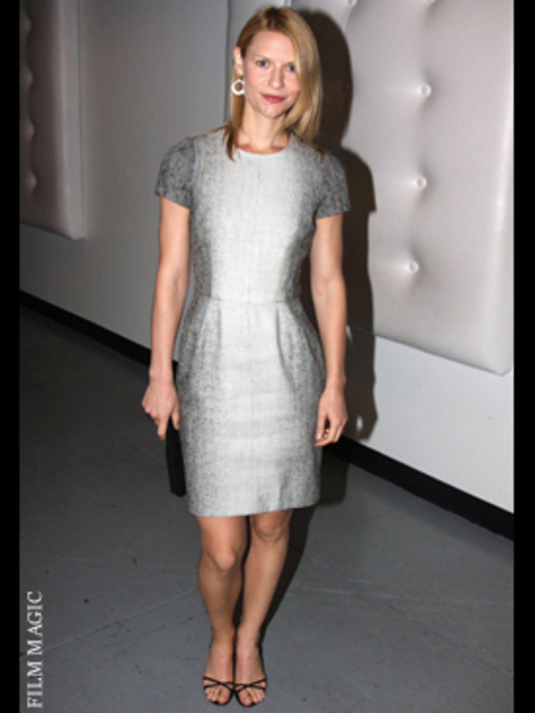 <p>Claire Danes in next season key silhouette </p>