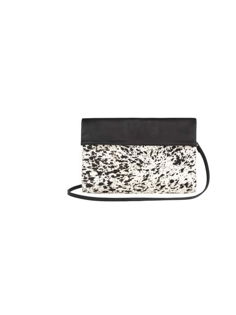 "<p>Chief Sub Editor Fern Ross has her eye on this monochrome animal print clutch - the perfect way to introduce print into any outfit.</p><p><a href=""http://www.marksandspencer.com/Autograph-Leather-Slouch-Clutch-Bag/dp/B002F6PTMQ?ie=UTF8&ref=sr_1_31&"