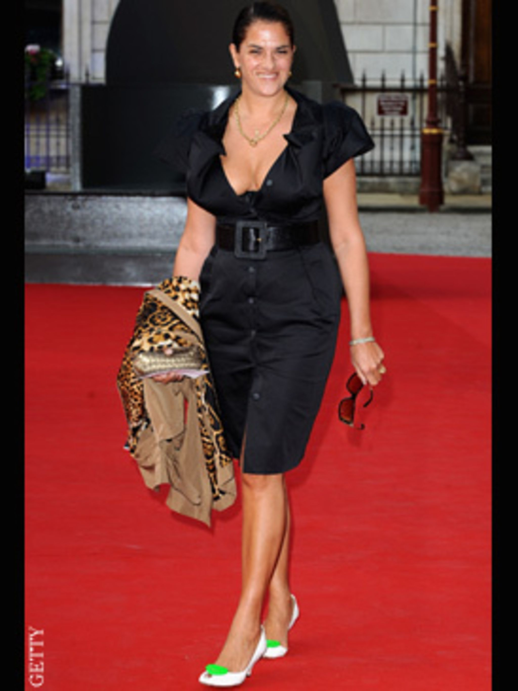 <p>Tracey Emin in Vivienne Westwood</p>