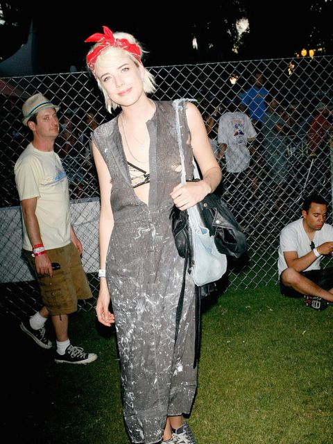 Agyness Deyn turned up to Coachella looking run-down chic in 2009