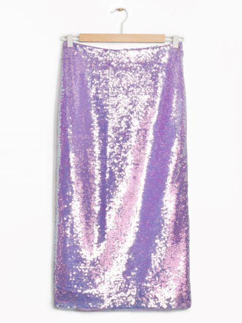 "<p>£65, <a href=""http://www.stories.com/gb/Ready-to-wear/Skirts/Sequin_Pencil_Skirt/590576-116557338.1"" target=""_blank"">& Other Stories</a></p>"