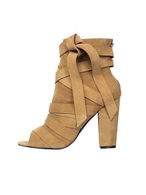 Suede boots, £110, Aldo