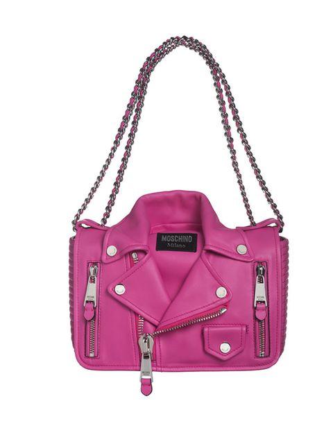 "<p>Perfecto bag Moschino £1,275, <a href=""http://www.monnierfreres.co.uk/gbuk/bags/shoulder-et-hobo-bags/perfecto-bag_p22298989.html"">Monnier Freres</a></p>"