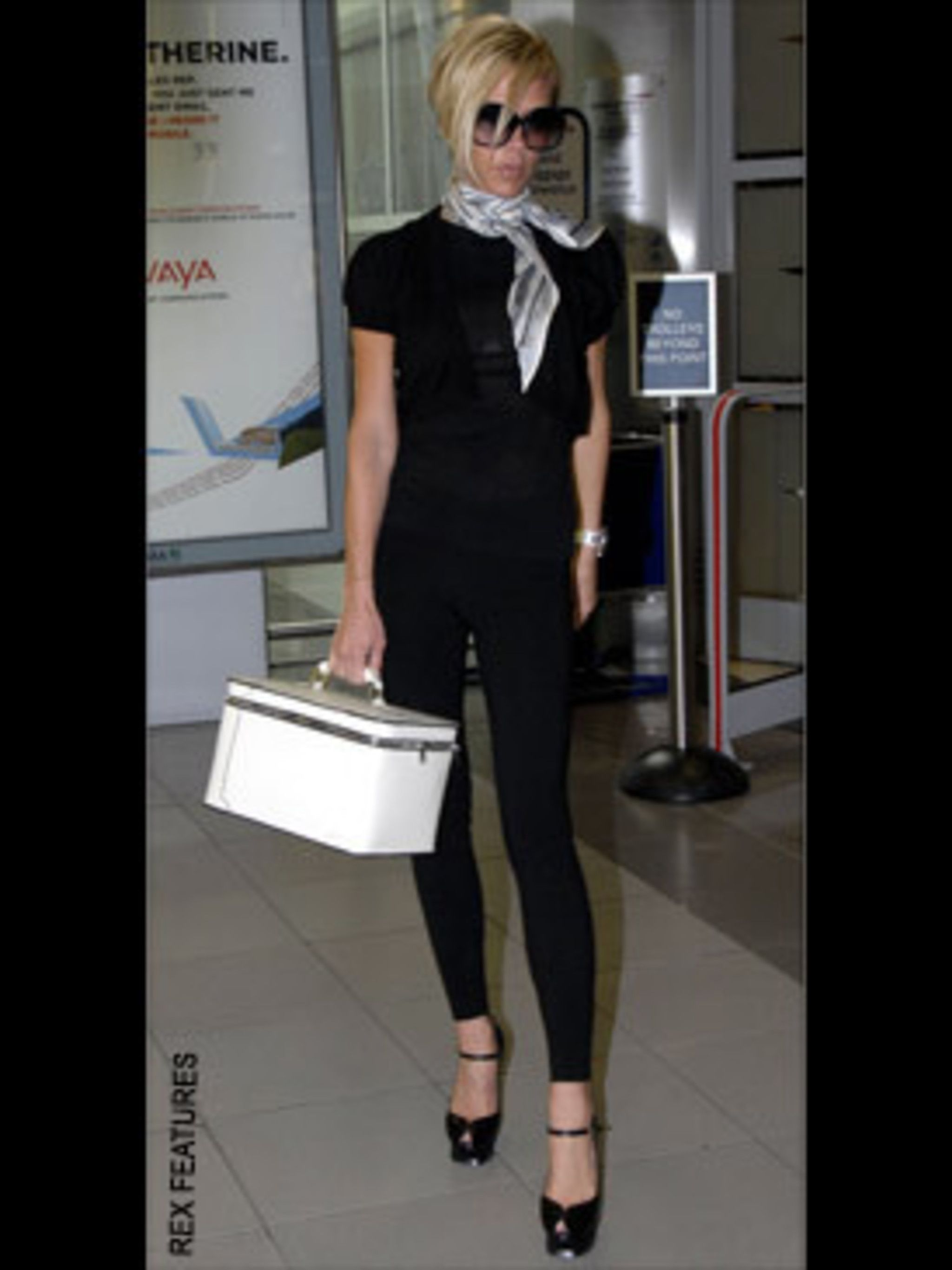 <p>Rarely out of stilettos, V.B. has made her Tributes a wardrobe staple</p>