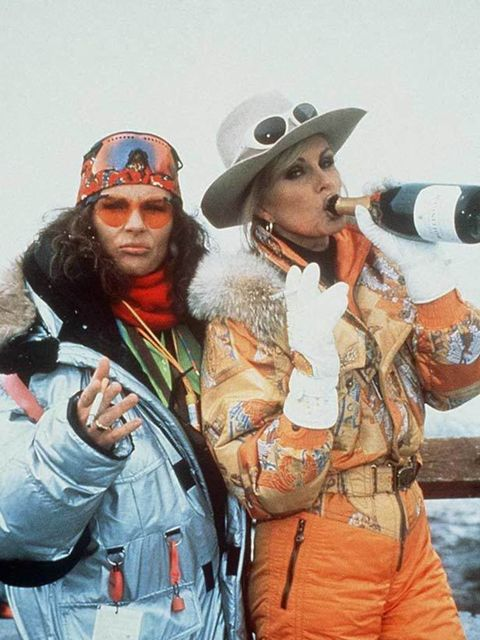 <p>Jennifer Saunders and Joanna Lumley in 'Absolutely Fabulous, Last Shout'.</p>