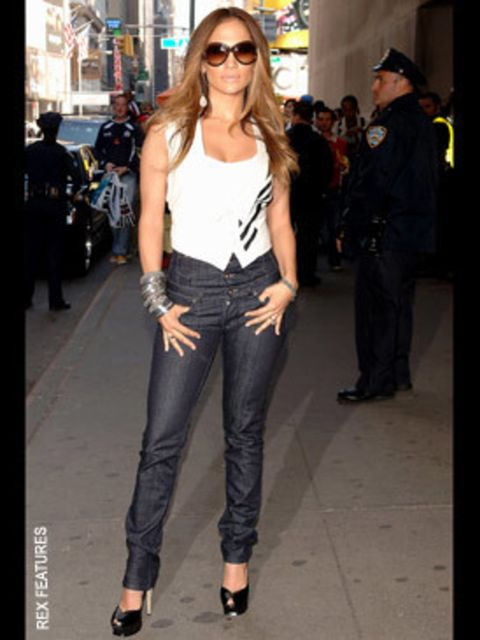 <p>J-Lo plays the diva in her Tributes</p>