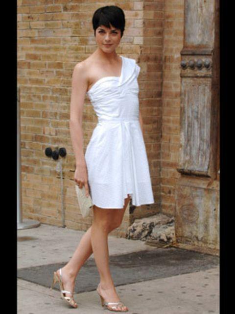 <p>Selma Blair in Kate Moss for Topshop</p>