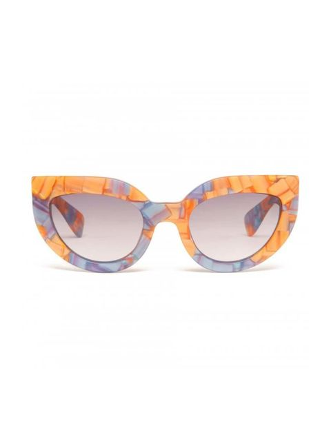 """<p>Digital Director Phebe Hunnicutt beat the rest of the team to these just-the-right-amount-of-bonkers sunglasses.</p>  <p></p>  <p><a href=""""http://www.bimbaylola.com/shoponline/product.php?id_product=10393&id_category=690"""" target=""""_blank"""">Bimba y Lola<"""